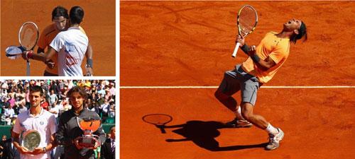 """Siêu kỷ lục của """"Vua đất nện"""" Nadal tại Monte-Carlo - 1"""
