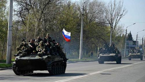 Binh sĩ Ukraine ủng hộ người biểu tình ở miền đông? - 1