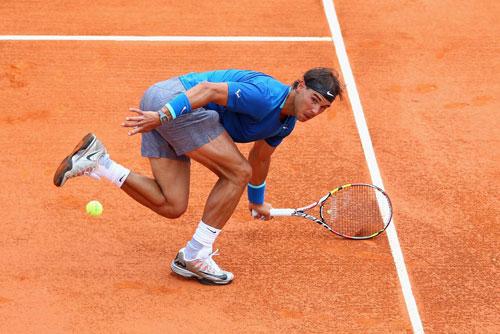 Nadal - Gabashvili: Khởi động làm nóng (V2 Monte-Carlo) - 1