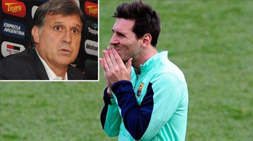 """""""Dự án mới"""" của Barca: Giữ Messi, thải Martino - 1"""