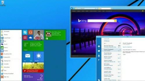 """Windows 8.2 có thanh Start Menu, Windows 9 lên """"mây"""" - 1"""