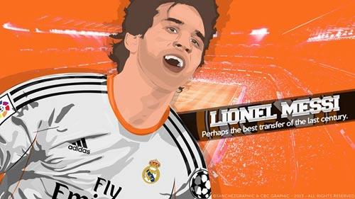 Barca có thể mất Messi vào tay... Real - 1