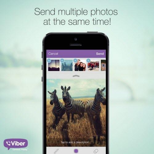 Viber trên iOS cập nhật giao diện phẳng - 1