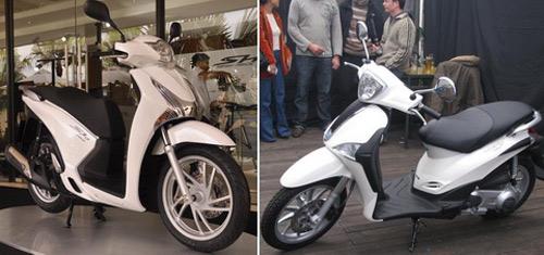 Chọn Honda SH 2012 hay Piaggio Liberty? - 1
