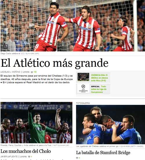 """Báo chí thế giới: """"Mourinho, kẻ thất bại vĩ đại"""" - 1"""