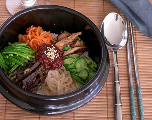 Đổi món ngày hè với cơm trộn chay kiểu Hàn - 1