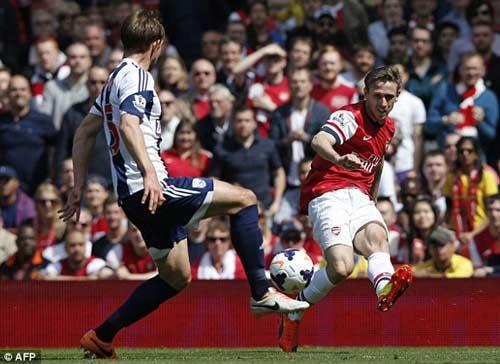 Arsenal – West Brom: Cả làng đều vui - 1