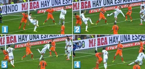 Ronaldo lập siêu phẩm: Xứng danh Bóng vàng - 1