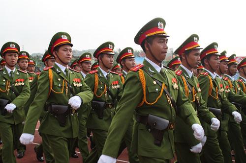 Toàn cảnh lễ diễu binh mừng chiến thắng Điện Biên Phủ - 1
