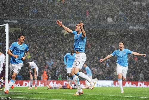 Man City - Aston Villa: Hiệp 2 lên đồng - 1