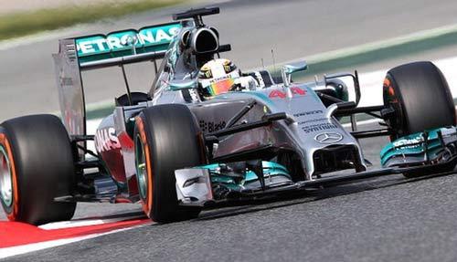 Phân hạng Spanish GP: Vinh danh Mercedes - 1