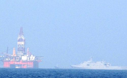 Trung Quốc tăng tàu bảo vệ giàn khoan 981 lên 126 chiếc - 1