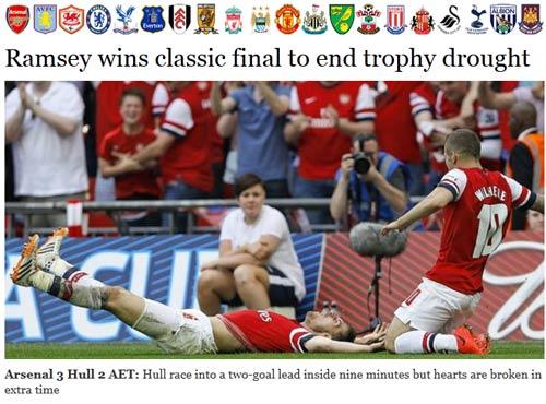 Báo Anh: Arsenal vô địch kỳ vĩ nhất sau 48 năm - 1