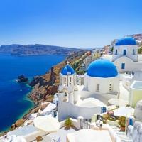 """Santorini - Hòn đảo """"thiên thần"""" của Hy Lạp"""