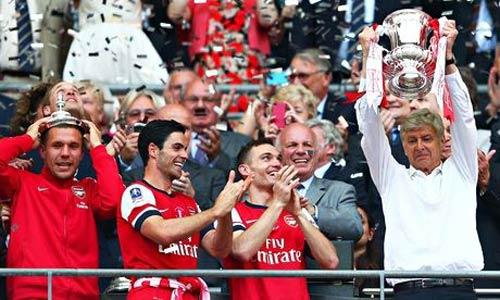 Arsenal: Chu kỳ thành công cùng ngũ hổ tướng - 1