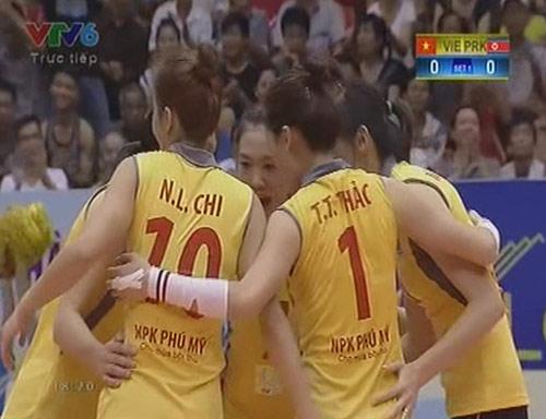 """Việt Nam """"vùi dập"""" ứng cử viên vô địch VTV Cup - 1"""