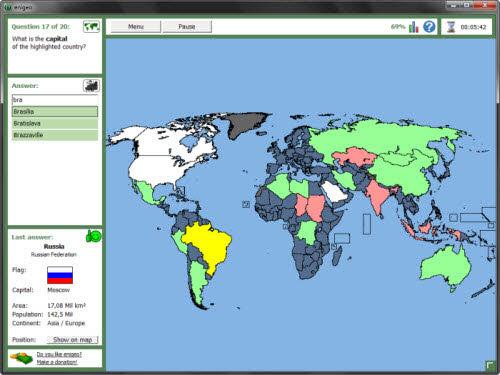 Phần mềm dò tìm địa lý của gần 200 quốc gia - 1
