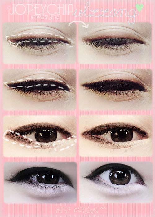 Đôi mắt quyến rũ nhờ trang điểm kiểu Hàn Quốc - 1
