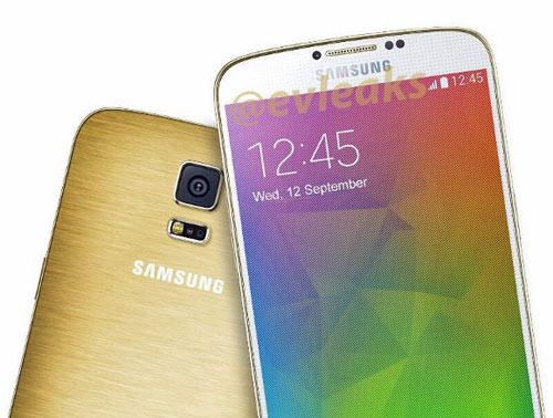 Samsung Galaxy F phiên bản màu vàng cáu cạnh - 1
