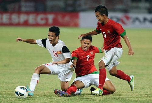 U19 Indonesia đấu đội trẻ Barca, U20 Argentina - 1