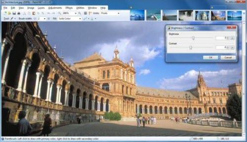 Chỉnh sửa hình ảnh miễn phí với Paint.NET - 1