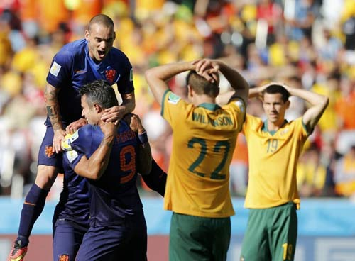 Góc 3D: Hà Lan nhọc nhằn vượt ải Úc - 1