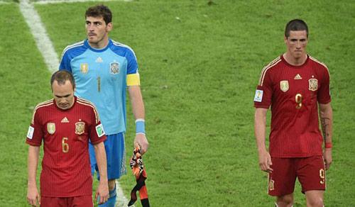 Tây Ban Nha và vết xe đổ ám ảnh những nhà vô địch - 1