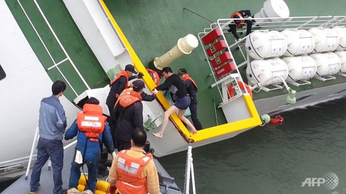 Phà Sewol: Duy nhất 1 thủy thủ nhận tội trước tòa - 1