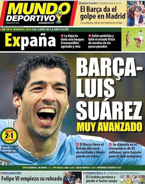 Đánh bại Real, Barca giành chữ ký Suarez - 1