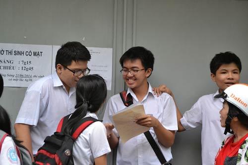 Tuyển sinh lớp 10 TP.HCM: Môn chuyên làm khó thí sinh - 1