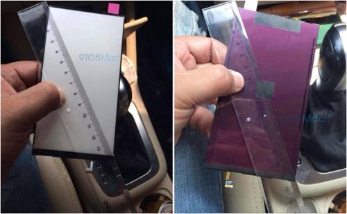 Ảnh thực tế màn hình 5,5 inch của iPhone 6 - 1