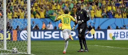 Góc 3D: Neymar tỏa sáng, Brazil nhảy samba - 1