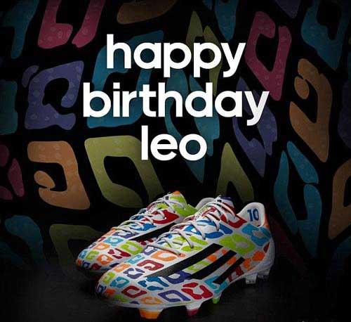 """Messi nhận quà sinh nhật là """"hàng độc"""" - 1"""