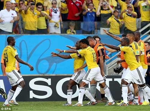Nhật Bản – Colombia: Cơn mưa bàn thắng - 1