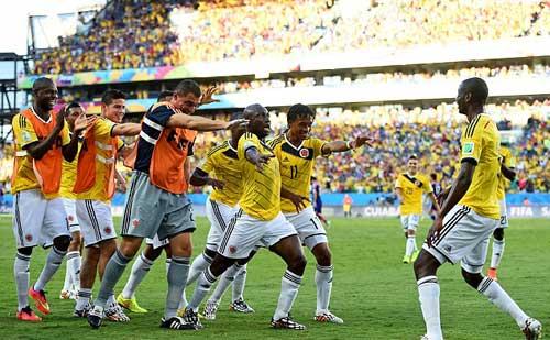"""Góc 3D: """"Samurai"""" Nhật Bản tan nát trước Colombia - 1"""