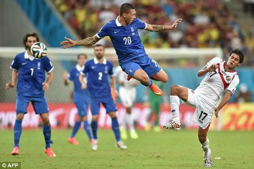 """Costa Rica - Hy Lạp: """"Nghẹt thở"""" ở sân Pernambuco - 1"""
