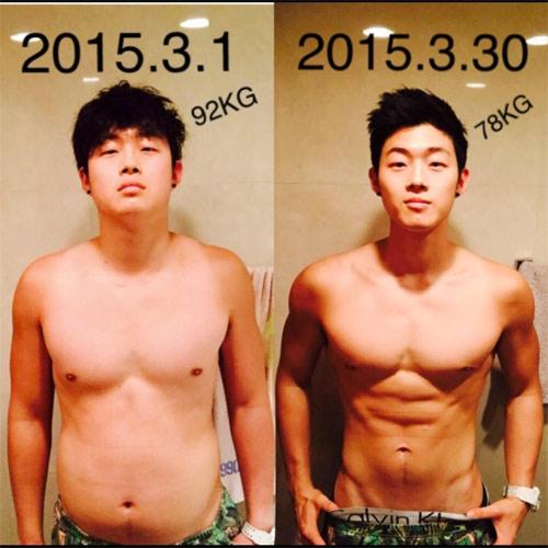 """Sửng sốt với quá trình """"biến hình"""" của chàng trai Hàn Quốc - 1"""