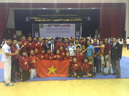 Karatedo Việt Nam giành ngôi đầu giải Đông Nam Á - 1