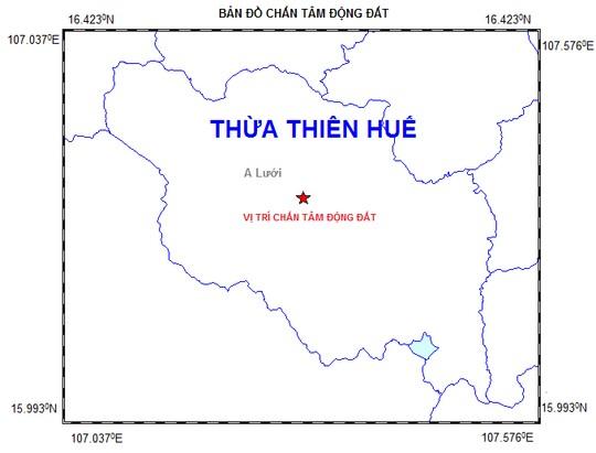Động đất liên tiếp xảy ra ở A Lưới, Thừa Thiên - Huế - 1