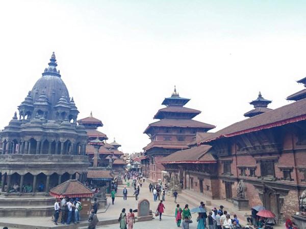 6 tiếng giữa tâm động đất Nepal của cô gái Việt Nam - 1