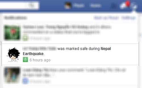 Google và Facebook tham gia tìm kiếm nạn nhân động đất ở Nepal - 1