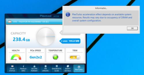 Phần mềm miễn phí giúp tăng tốc ổ cứng SSD của Plextor - 1