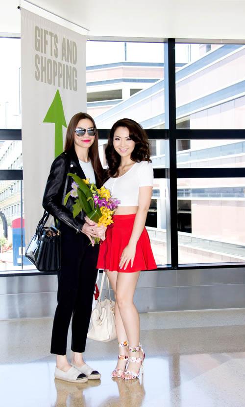 Hồ Ngọc Hà nóng bỏng đọ sắc hoa hậu châu Á tại Mỹ - 1