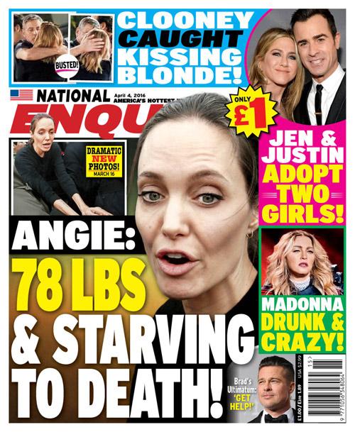Rộn tin Angelina Jolie nhập viện và đang nguy kịch - 1