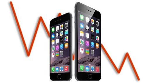 Doanh số iPhone vẫn giảm dù iPhone 7 xuất hiện - 1