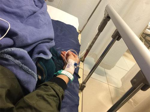 Hồng Quế bị thương phải nhập viện trong lúc tập nhảy - 1