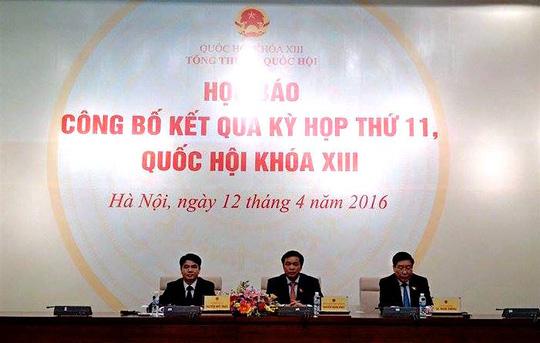 Tổng thư ký QH nói về việc đại biểu chụp hình lúc tuyên thệ - 1