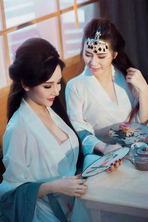 Hot girl Sài thành hóa thân thành Thúy Vân - Thúy Kiều - 1