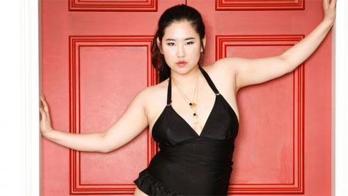 Vẻ đẹp siêu sexy của nàng mẫu béo duy nhất Hàn Quốc - 1
