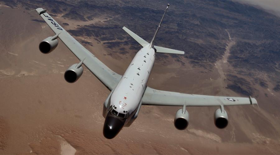 Chiến đấu cơ Nga chặn sát mũi máy bay do thám Mỹ - 1